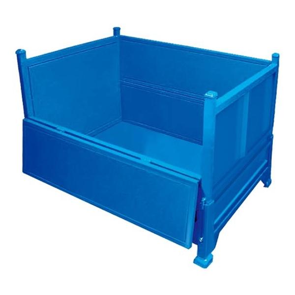 可折叠金属铁板箱